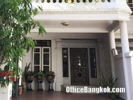 Home Office 3.5 Storey on Sukhumvit 26 close to Promphong BTS Station