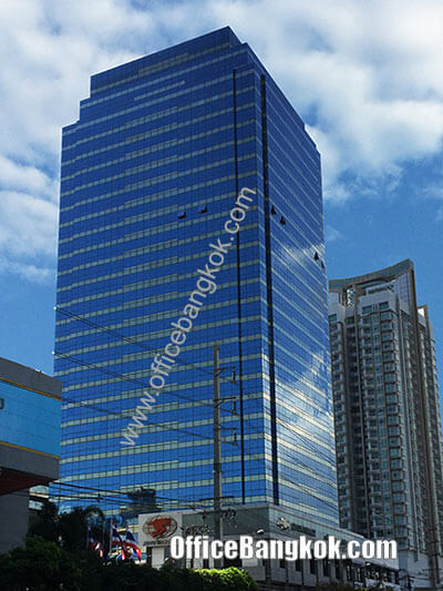 Thanapoom Tower - Office Space for Rent on New Petchburi Road