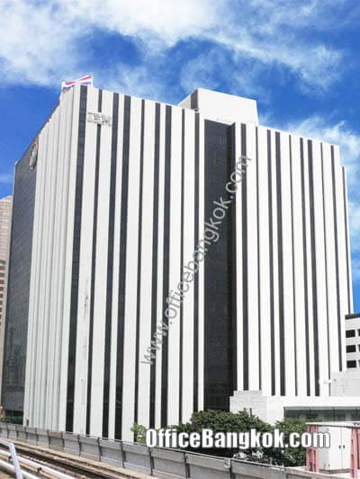 S.P Building (IBM Building) - Office Space for Rent on Phahonyothin Area