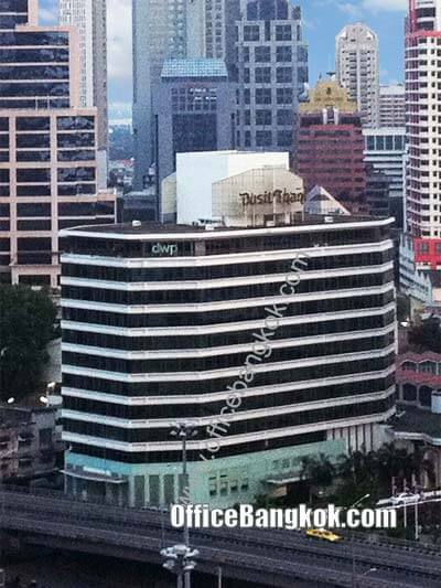 Dusit Thani Building - Office Space for Rent on Rama 4 Area nearby Sala Daeng BTS Station and Silom MRT Station