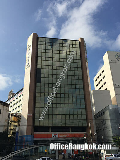Tung Hua Pug Building - Office Space for Rent on Rama 4 Area nearby Hua Lamphong MRT Station