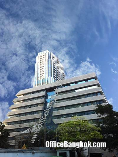 Golden Pavilion Building - Office Space for Rent on Ratchadamri Area nearby Ratchadamri BTS Station