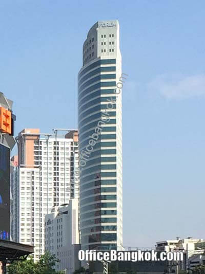 Forum Tower - Office Space for Rent on Ratchadapisek Area nearby Huai Khwang MRT Station
