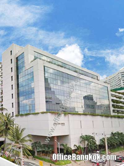 Chaophraya Tower - Office Space for Rent on Sathorn Area nearby Surasak BTS Station