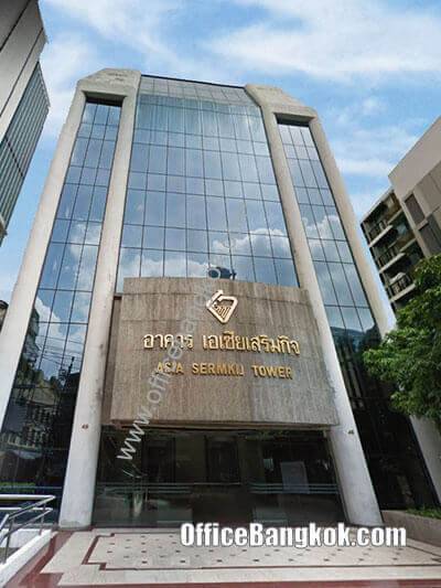 Asia Sermkij Tower - Office Space for Rent on Silom Area nearby Chong Nonsi BTS Station