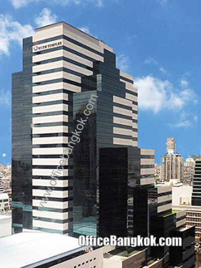 Service Office for rent at Silom Complex Building