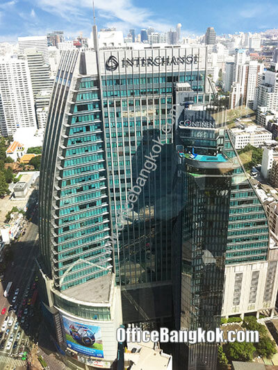 Interchange 21 - Office Space for Rent on Sukhumvit Area nearby Phrom Phong BTS Station and Sukhumvit MRT Station.