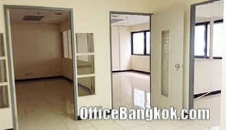 Rent Office Partly Furnished on Sathorn near Surasak BTS Station