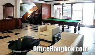 Rent Office Furnished on Silom near Sala Daeng BTS Station