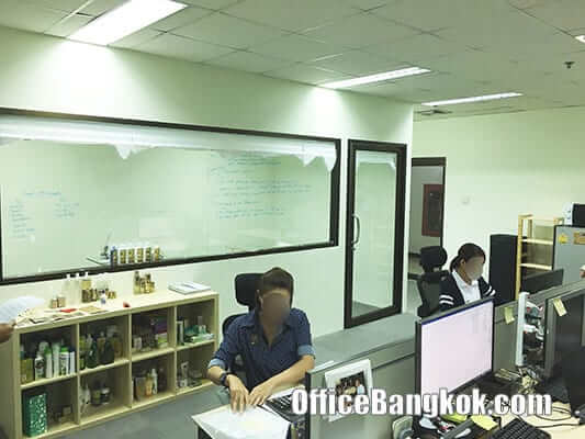 Rent Office Space Cheap Price with Partly Furnished on Sukhumvit 63 close to Ekamai BTS Station