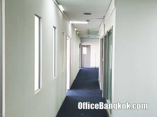 Partly Furnished Office Space for Rent near Asoke BTS Station