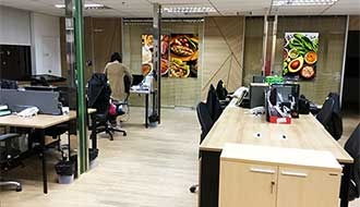 Rent Partly Furnished Office Space on Sathorn Near Chong Nonsi BTS Station