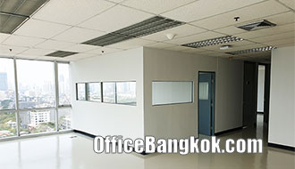 Office Space for Rent with Partly Furnished near Ekamai BTS Station
