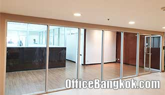 Partly Furnished Office Space for Rent near BTS Asoke Station