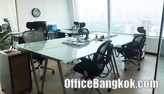 Rent Furnished Office Space close to Asoke BTS Station