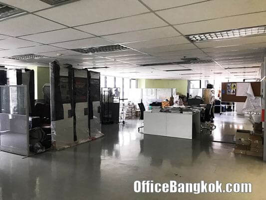 Fully Furnished Office Space for Rent nearby Surasak BTS Station Unit B