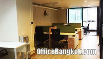 Fully Furnished Office for Rent at Phayathai Plaza