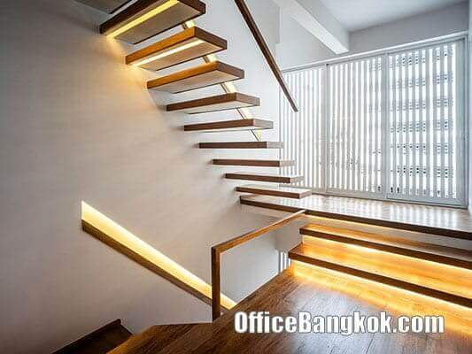 Fully Furnished Office for Rent Soi Saladaeng near BTS Sala Daeng Station and MRT Silom Station