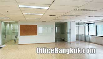 Rent Partly Furnished Office Space on Asoke