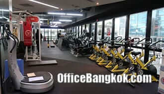 Rent Space for Fitness in Office Building Asoke Area