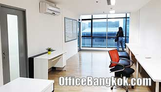 Office Space for Rent at Cheap Price Near Suthisarn MRT Station
