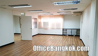 Rent Office MRT Ratchadapisek with Partly Furnished