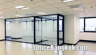 Rent Office Partly Furnished on Ratchadapisek Road