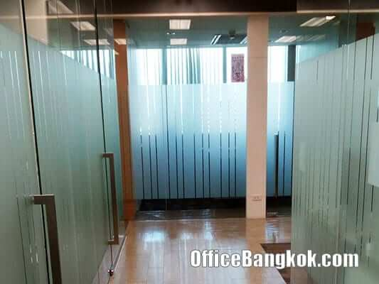 Fully Furnished Office Space for Rent at Q House Lumpini on Sathorn Area nearby Lumpini MRT Station
