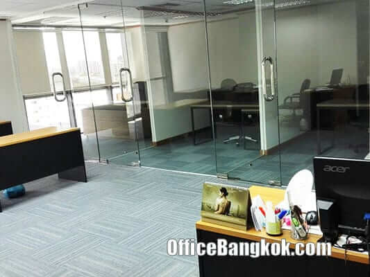 Thai Wah Tower - Fully Furnished office for rent nearby Lumpini MRT