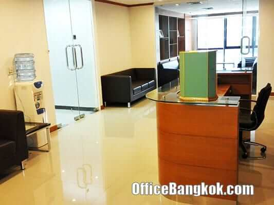Thai Wah Tower - Fully Furnished office for rent nearby Lumpini MRT Station