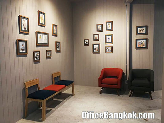 Fully Furnished Office at Banthat Thong Road