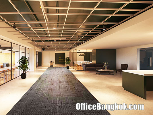 Modern Office for Rent on Phetchaburi Road at Charn Issara Tower 2