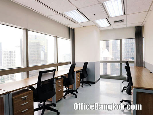 Service Office for Rent at Serm-Mit Tower