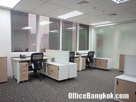 Service Office for Rent at Sathorn Thani Building 1