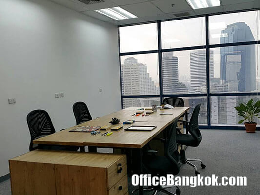 Service Office for Rent at Glas haus Building