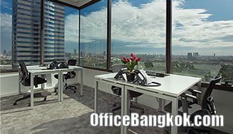 Service Office for rent on Vibhavadi Rangsit Area